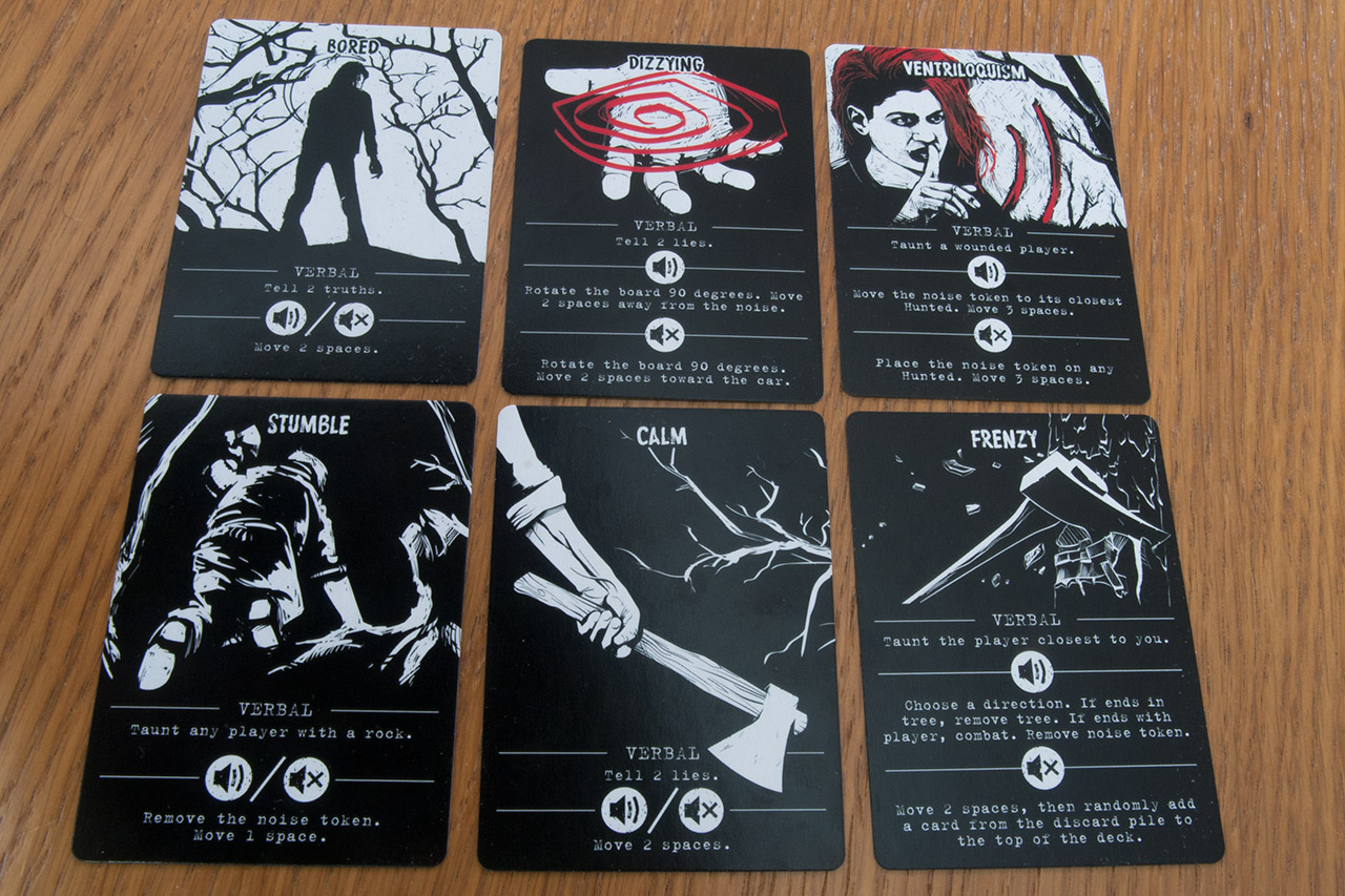 Image showing hunter action cards