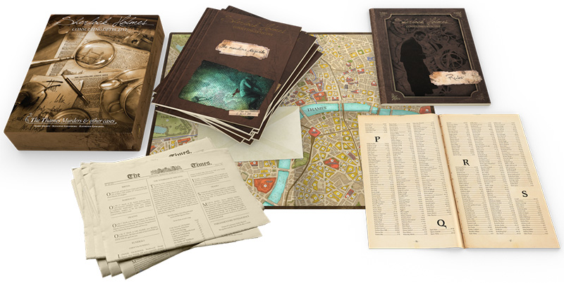 Sherlock Holmes: Consulting Detective - Board Games You Can Play